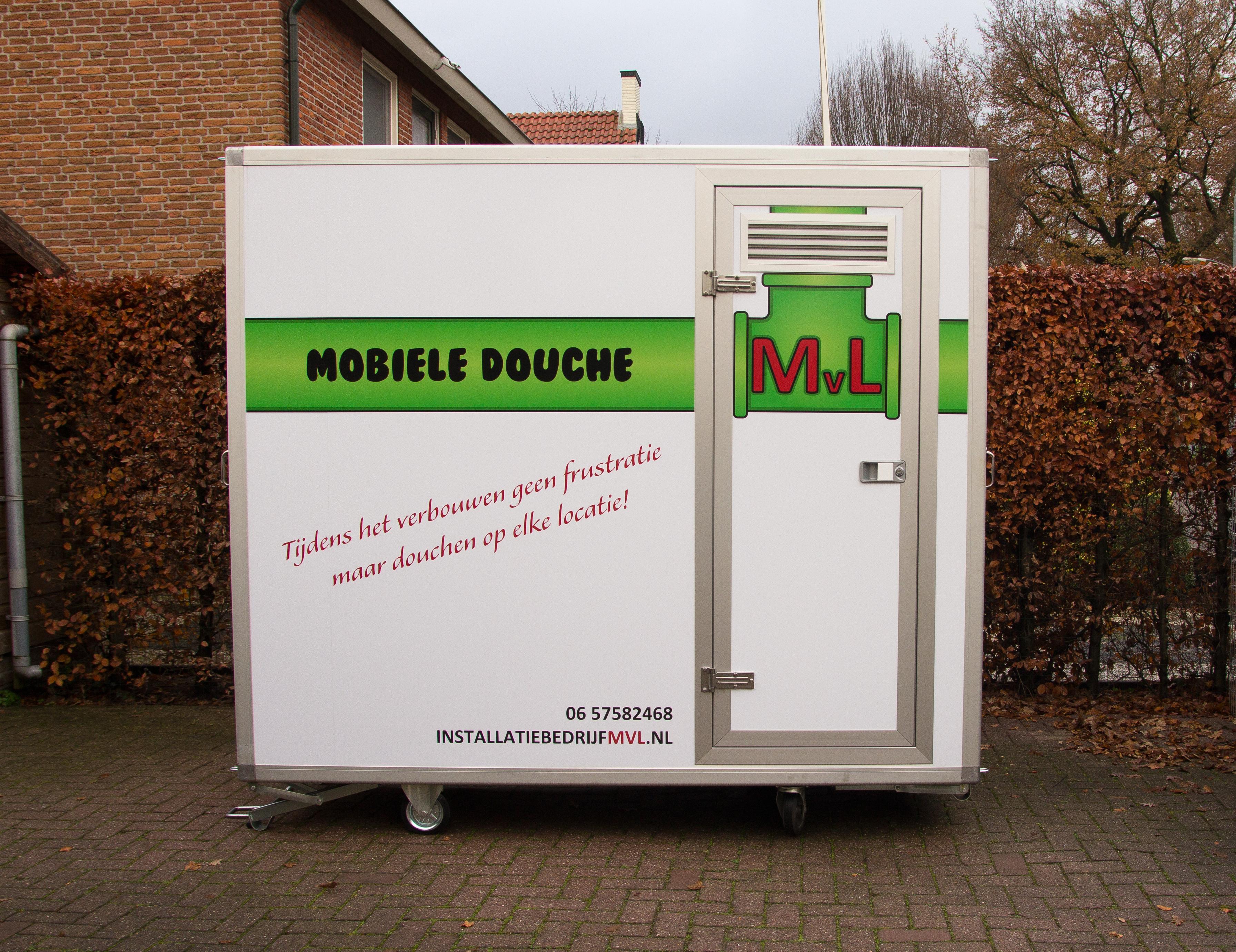 Mobiele Badkamer Huren : Mobiele douche installatiebedrijf mvl
